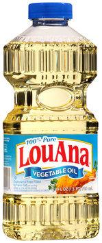 Lou Ana® 100% Pure Vegetable Oil 24 fl oz. Plastic Bottle