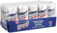 Marcal® Pride Two-Ply Paper Towels 15 Ct Wapper