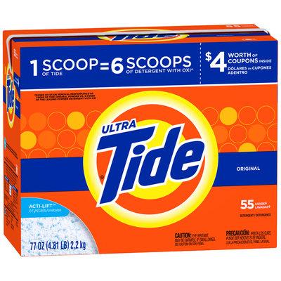 Tide Ultra Original Scent Powder Laundry Detergent 79 oz. Box