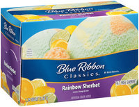 Blue Bunny® Blue Ribbon Classics® Rainbow Sherbet 1.75 qt. Carton