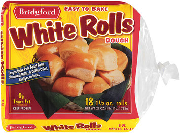 Bridgford® White Rolls Dough 18 ct
