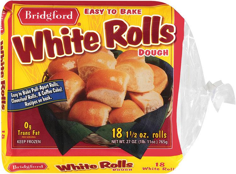 Bridgford® White Rolls Dough 18 ct