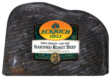 Eckrich Cap Off Seasoned Roast Beef Deli - Roast Beef