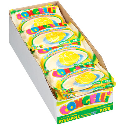 Congelli® Pineapple Water Based Gelatin Dessert 24-6 oz. Bags