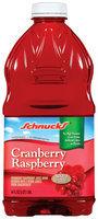 Schnucks Cranberry Raspberry Juice Drink 64 Oz Plastic Bottle