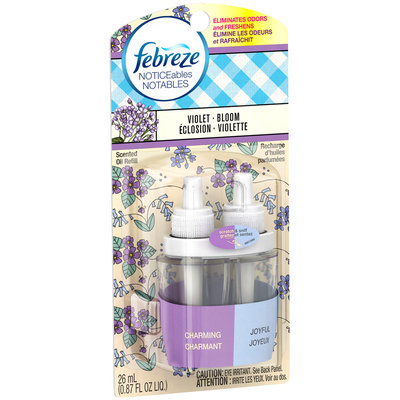Febreze NOTICEables™ Violet Bloom Air Freshener 0.87 fl. oz. Carded Pack