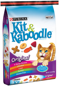 Purina Kit & Kaboodle Original Cat Food 11 lb. Bag