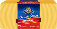 Crystal Farms® American Deluxe Slices 72 ct Pack