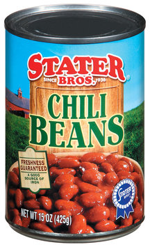Stater Bros. Chili Beans 15 Oz Can