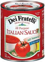 Dei Fratelli All Purpose Italian Sauce 28 Oz Can