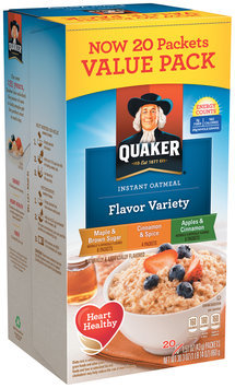 Quaker® Cinnamon & Spice Instant Oatmeal 4-1.5 oz. Packets