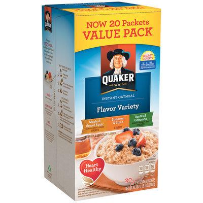 Quaker® Cinnamon & Spice Instant Oatmeal