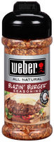 Weber® All Natural Blazin' Burger™ Seasoning 5.75 oz. Bottle