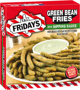 T.G.I. Friday's® Green Bean Fries with Dipping Sauce 36 oz. Box