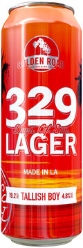 329 Days of Sun Lager Beer 19.2 fl. oz. Can