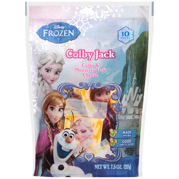 Disney Frozen Colby Jack & Monterey Jack Cheese 7.5 oz. Stand-Up Bag