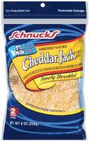 Schnucks® Finely Shredded Cheese Reduced Fat Cheddar Jack Blend 8 oz.