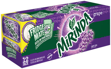 Mirinda® Grape Soda 12 Pack 12 fl. oz. Cans
