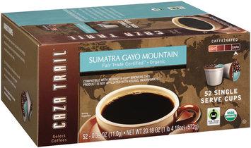 Caza Trail® Sumatra Gayo Mountain Dark Coffee 52-0.39 oz. Cups