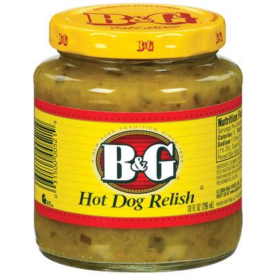 B&G Hot Dog Relish 10 Oz Jar