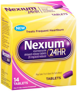 Nexium 24 Hour® Acid Reducer 20mg Delayed-Release Tablets