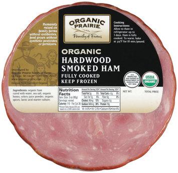 Organic Prairie Organic Hardwood Smoked Ham