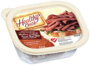 Healthy Ones Medium Cooked Deli Thin-Sliced Roast Beef 6.5 Oz Plastic Tub