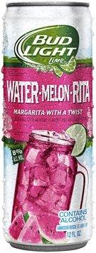 Bud Light Lime Water-Melon-Rita