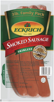 Eckrich Skinless Original Smoked Sausage Family Pack
