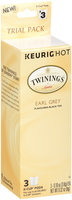 Twinings® of London Earl Grey Flavored Black Tea 3-0.10 oz. Box