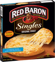 Red Baron® Singles Original Crust Pizza 4 Cheese 11.58 oz Box