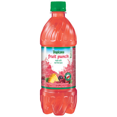 Tropicana® Fruit Punch Flavored Juice Drink 20 fl. oz. Plastic Bottle