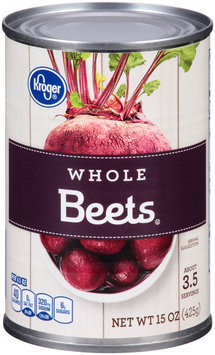 Kroger® Whole Beets® 15 oz. Can
