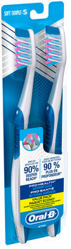 CrossAction Oral-B Pro-Health Superior Clean Toothbrush, 2 ct 40S