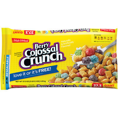 Malt-O-Meal® Berry Colossal Crunch® Cereal 37.3 oz. ZIP-PAK