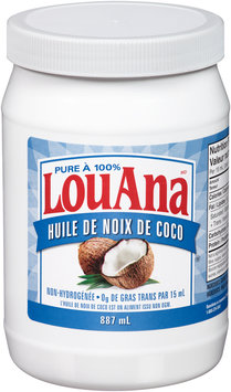 LouAna® 100% Pure Coconut Oil 887 mL Jar