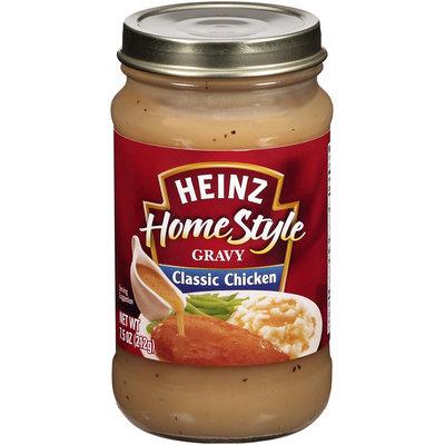 Heinz® HomeStyle Classic Chicken Gravy 7.5 oz. Jar.
