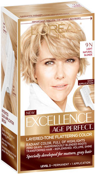 L'Oréal® Paris Excellence® Age Perfect™ Layered-Tone Flattering Color 9N Light Natural Blonde 1 Kit