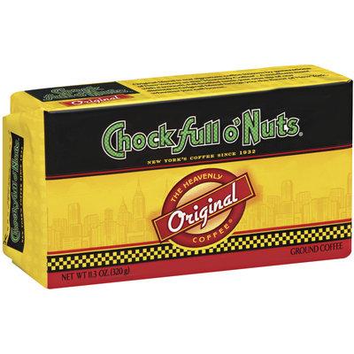Chock Full O' Nuts Original  Ground Coffee 11.3 Oz Brick