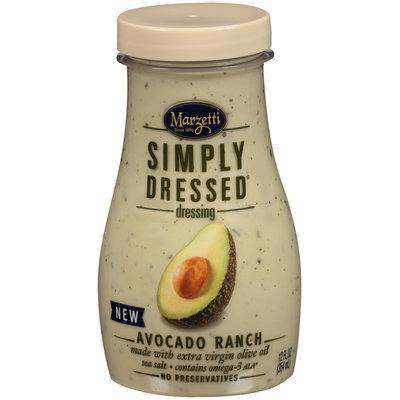Marzetti® Simply Dressed® Avocado Ranch Dressing 12 fl. oz. Bottle