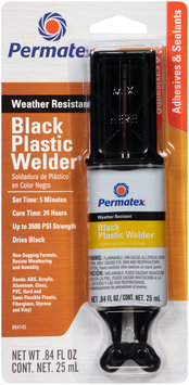 Permatex® Black Plastic Welder 0.84 fl. oz. Carded Pack
