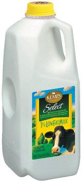 Kemps 1% Lowfat Select Milk .5 Gal Jug
