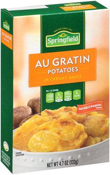 Springfield® Au Gratin Potatoes in Creamy Sauce 4.7 oz. Box