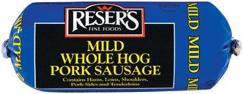 Reser's Fine Foods Mild Whole Hog Pork Sausage 12 Oz Chub
