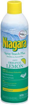 Niagara® Original Lemon Spray Starch Plus 20 oz. Aerosol Can