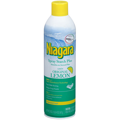 Niagara® Original Lemon Spray Starch Plus 20 oz. Aerosol Can