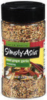 Simply Asia Sweet Ginger Garlic Seasoning 8.25 Oz Shaker