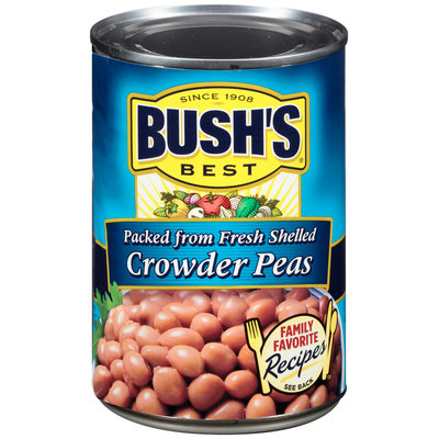 Bush's Best® Crowder Peas 15.8 oz. Can