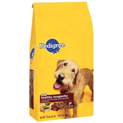 Pedigree Healthy Longevity Dry Dog Food 3.5 lb. Bag