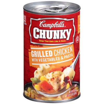 Campbell's® Chunky Grilled Chicken with Vegetables & Pasta Soup